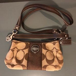 Brown/Tan COACH Purse